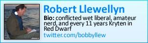 Robert Llewellyn on Twitter