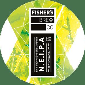 Fisher's NEIPA keg badge