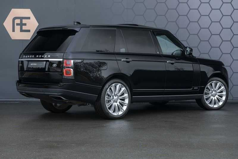 Land Rover Range Rover 5.0 V8 SC LWB Autobiography Rear Seat Entertainment + Head Up + 360 Camera + ACC afbeelding 9