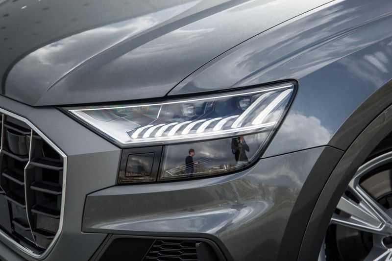 Audi Q8 55 TFSI quattro 340PK | Pano.dak | S-Line | 360 Camera | Adapt.cruise | Head-Up | B&O Advanced Sound | Massage/ventilatie/verwarmde Stoelen | Matrix LED | Full option | afbeelding 5