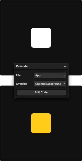 Framer X overrides