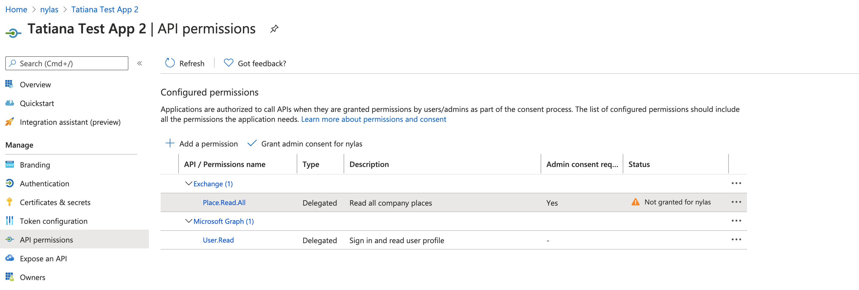 Azure Active Directory admin center Enterprise applications