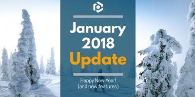 Cover image for January 2018 Update: Happy new year!