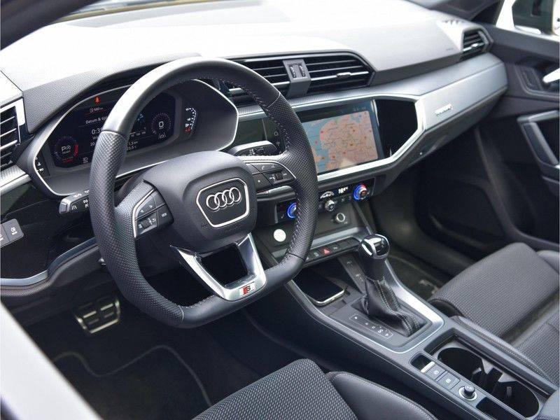 Audi Q3 Sportback 45TFSI 230pk Quattro S-Line Black Optic Pano M-LED Virtual 20-Inch Keyless DAB Stoelverwarming afbeelding 21