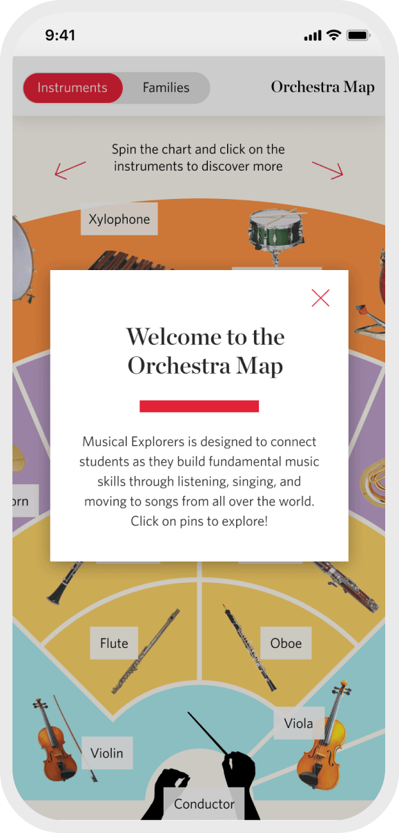 Orchestra Map mobile 1