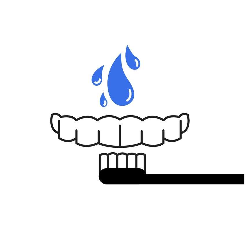 Zahnschiene Reinigen