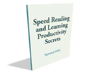 speed reading productivity tips ebook