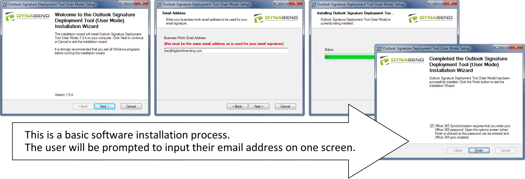 Email Signature Installer