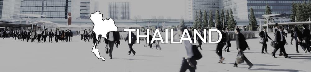 Business culture Thailand banner