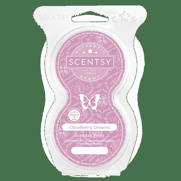 Cloudberry Dreams Scentsy Pod Twin Pack