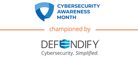 National Cybersecurity Awareness Month is Championed by Defendify