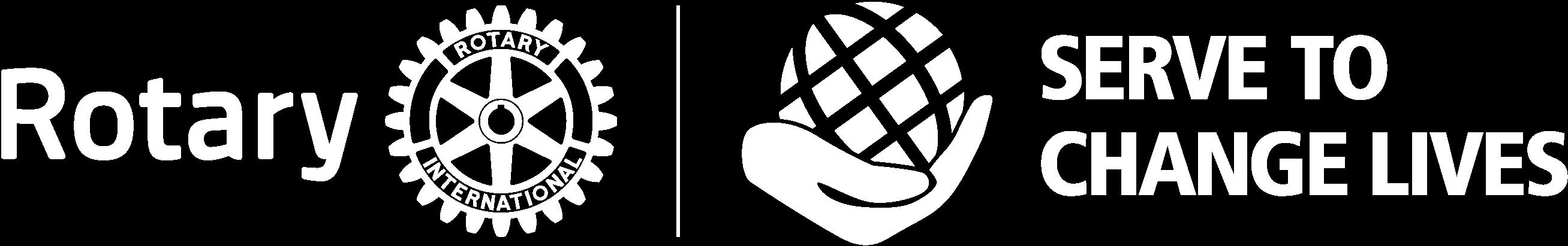 Rotary International Theme with Masterbrand - White