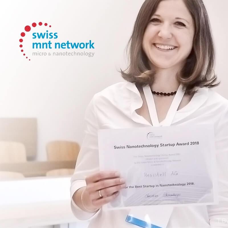 The Best Swiss Nanotechnology Startup 2018