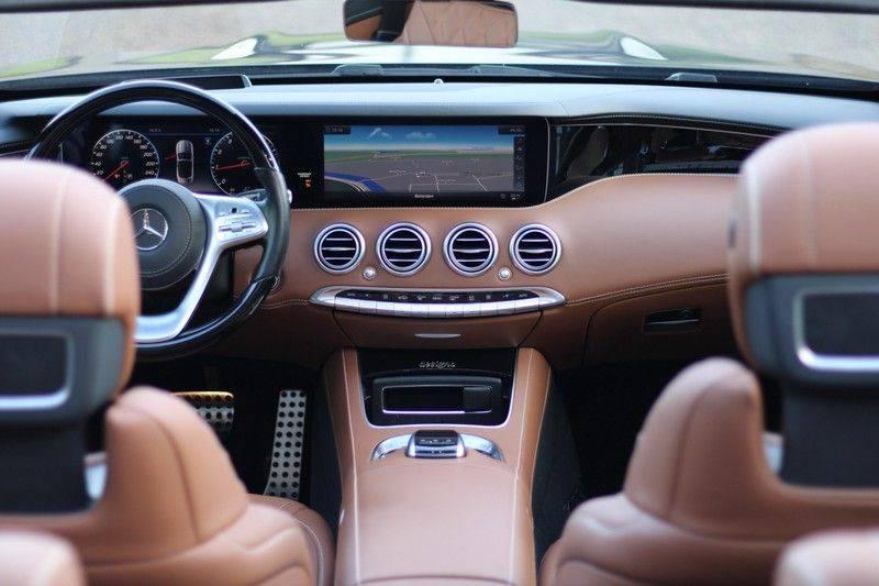 Mercedes-Benz S-Klasse Cabrio 560 Premium Plus AMG-pakket, Burmester, 360 camera, Alcantara hemel, Stoelkoeling afbeelding 11