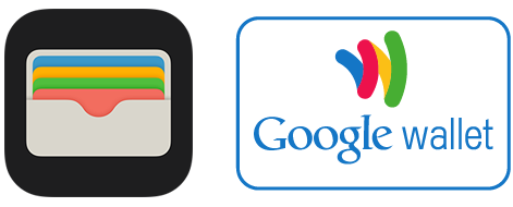 Apple Wallet and Google wallet