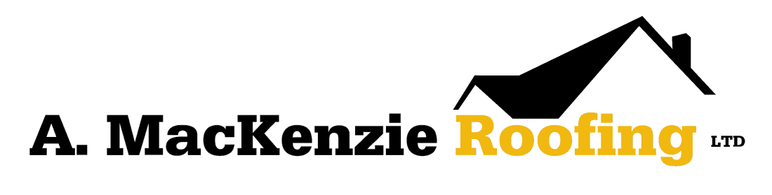 A. MacKenzie Roofing business logo;
