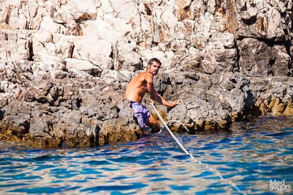 Sailing Croatia Sisela
