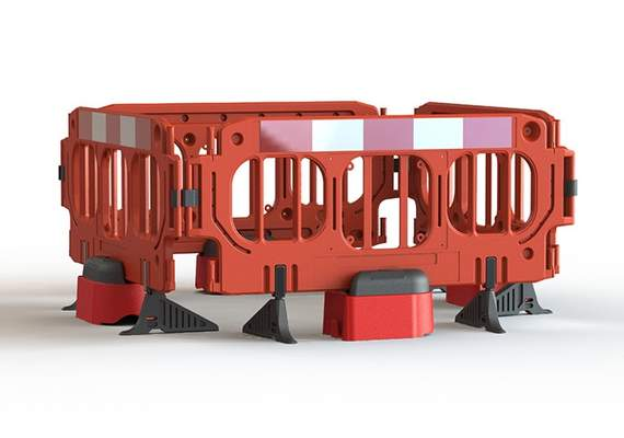 Road Rock Group Barriers