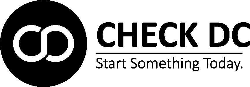 Check DC full logo
