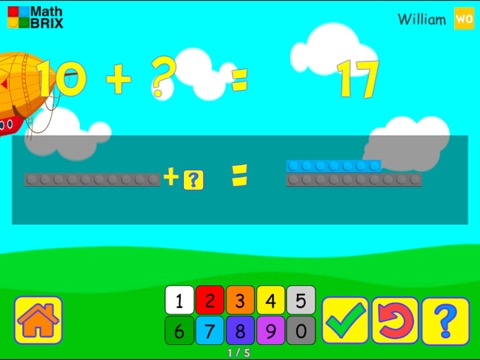 Forward, Backward: Commutative property of addition (Dragging) Math Game