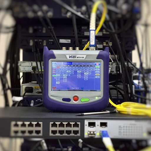 Fiber Optic Splicing and Testing App