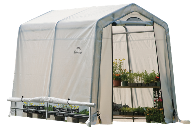 6 foot background greenhouse