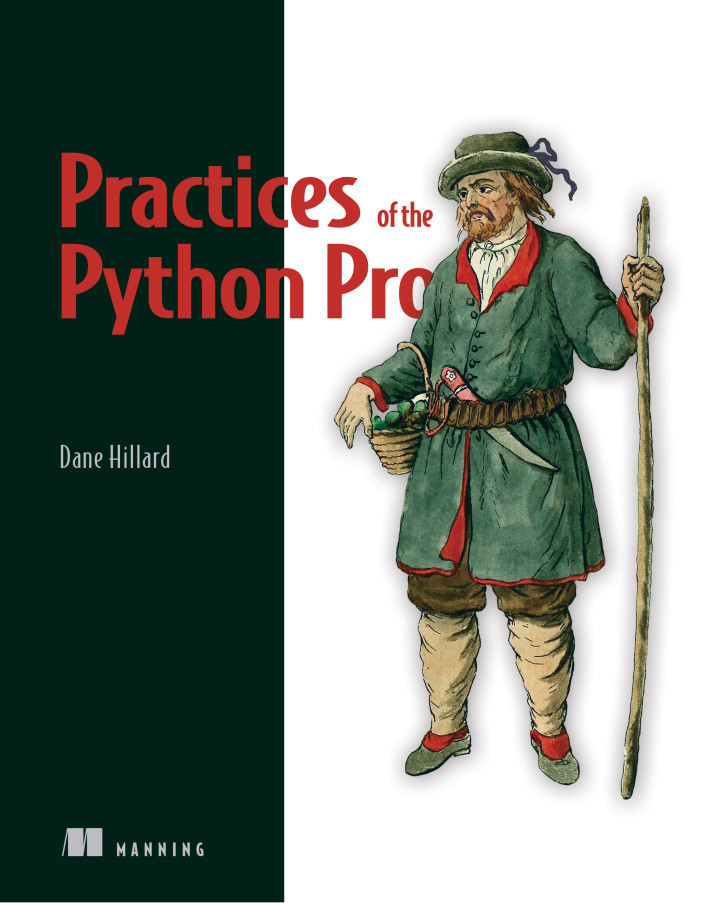 Book cover for Practices of the Python Pro by Dane Hillard