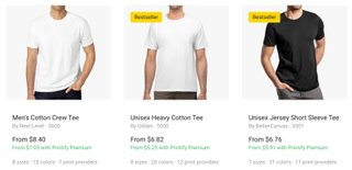 printify premium shirt discounts