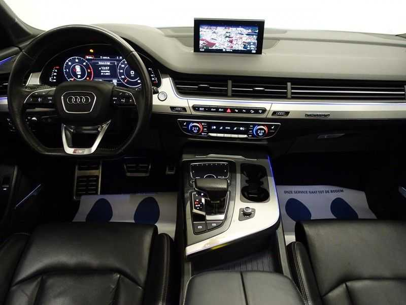 Audi Q7 3.0 TDI (SQ7) 300PK Quattro S-Line 7pers Autom- Pano, Virtual Cockpit, Bose, Head-up, Full! afbeelding 12