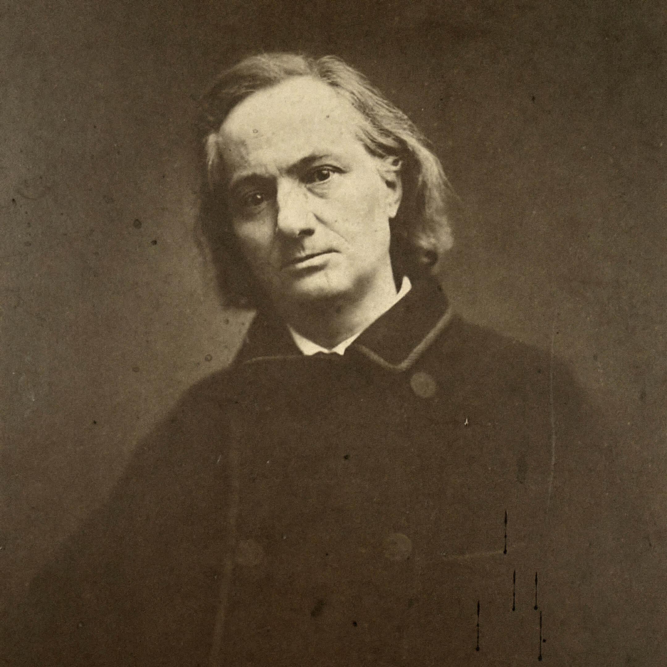 Шарль Бодлер в1865году, последнее фото перед его смертью. Фотограф: Étienne Carjat. Источник: commons.wikimedia.org
