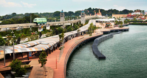 Image of Sentosa Boardwalk