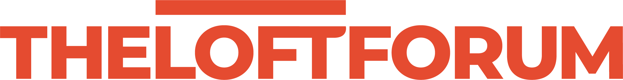 The Loft Forum Orange Logo