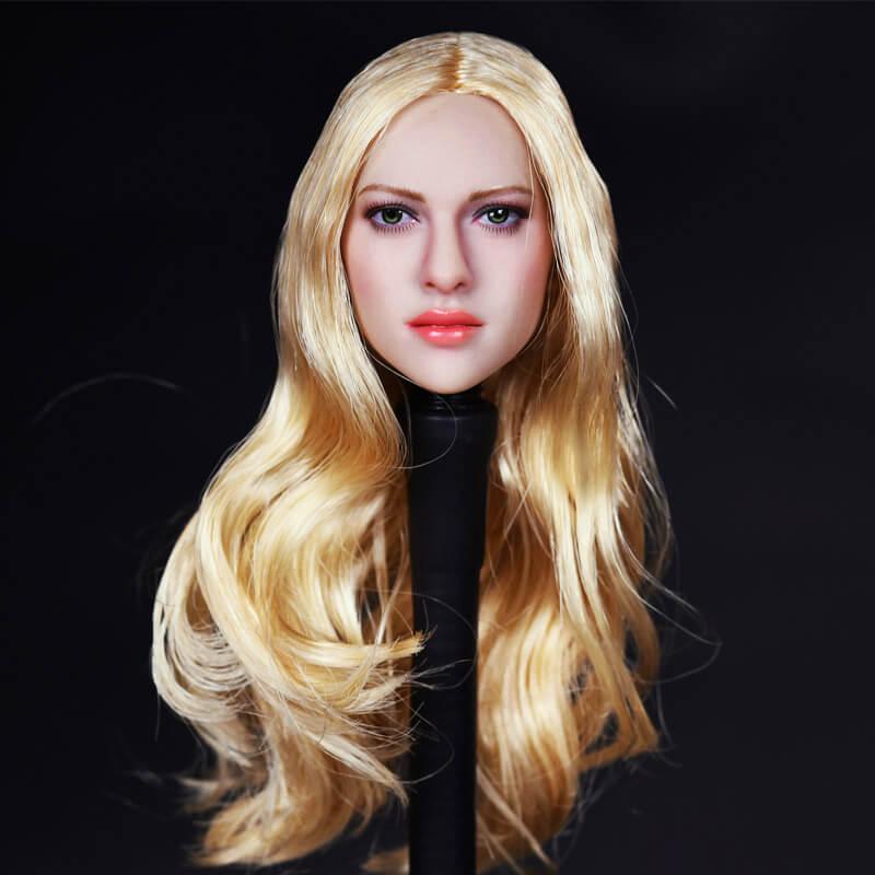 Kimi Toys 1/6 scale Blonde Female Head Sculpt KT004