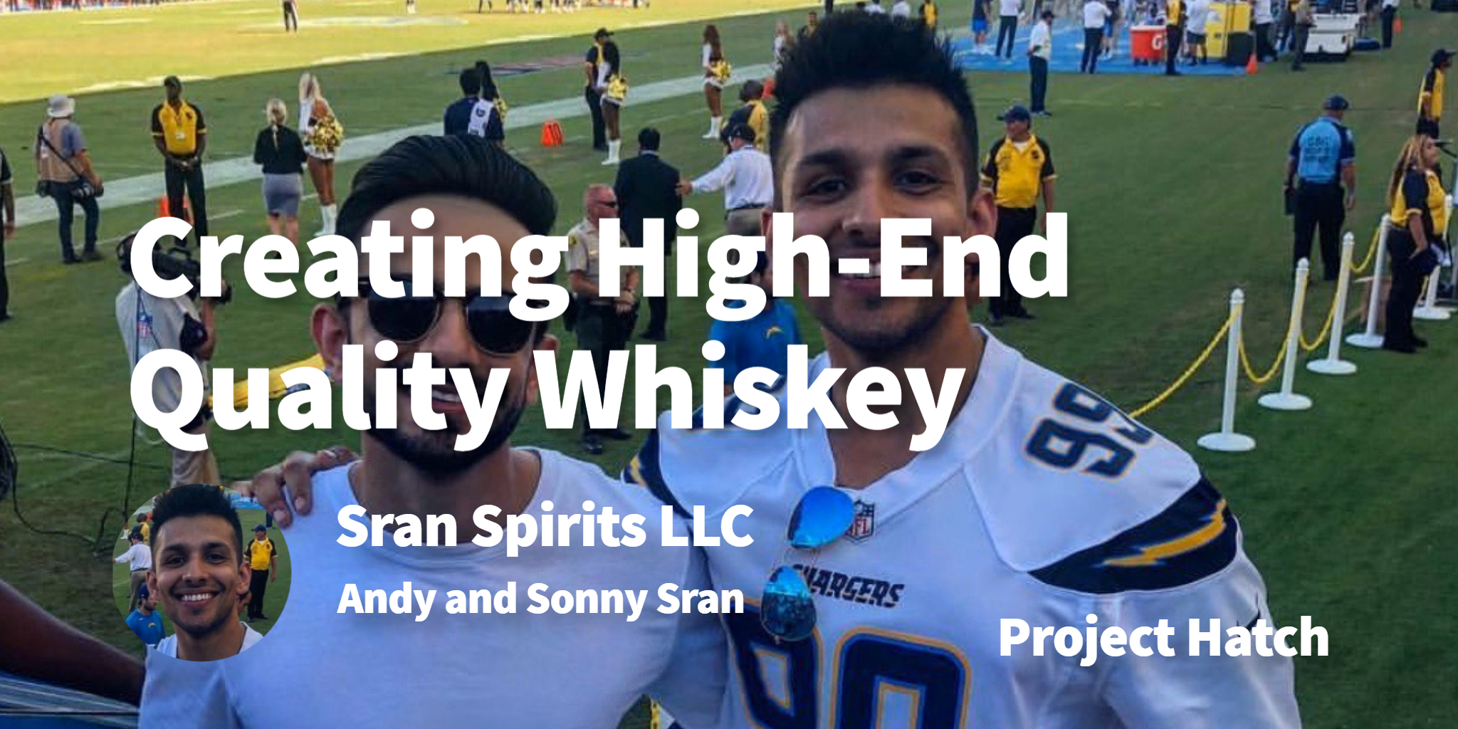 Sran Spirits LLC Andy and Sonny Sran