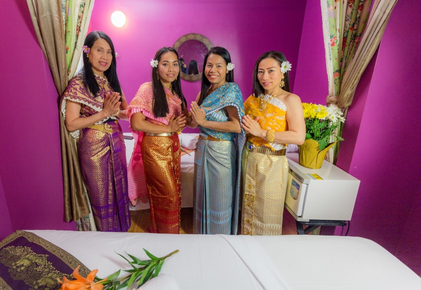 Oasis Thai Massage Staff
