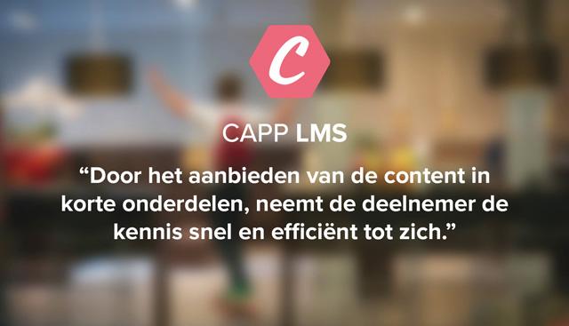 Van SCORM-module naar micro-leren met CAPP LMS