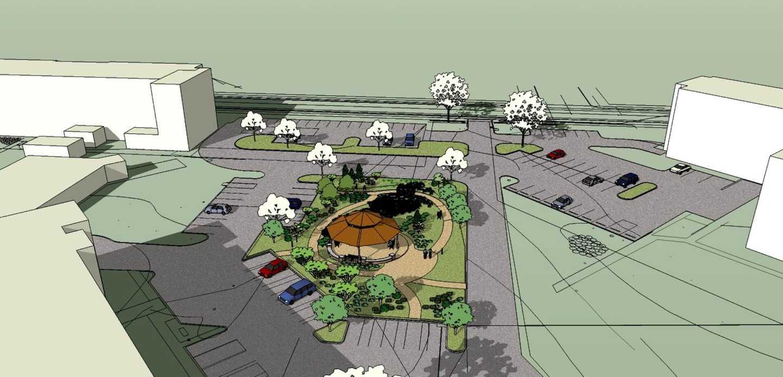 58th Street Campus Institution catharine ann farnen landscape architecting overview