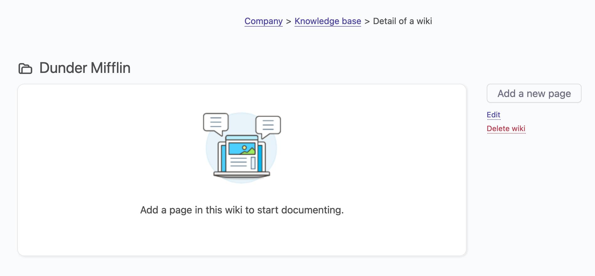 wiki create