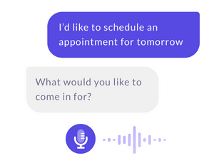 A voice-powered assistant capable of booking salon appointments by phone