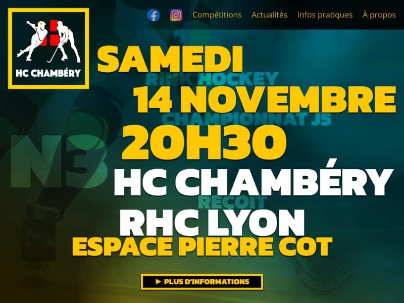 Image du post Redesign du HC Chambéry