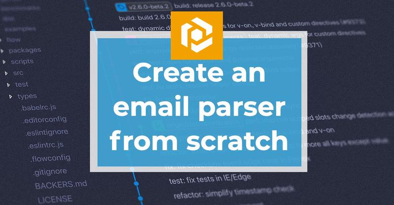 How to create an email parser cover image