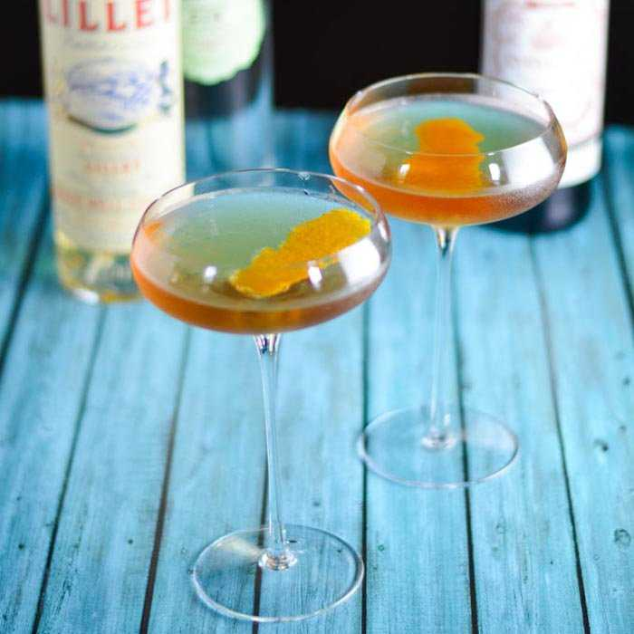 French Negroni Cocktail