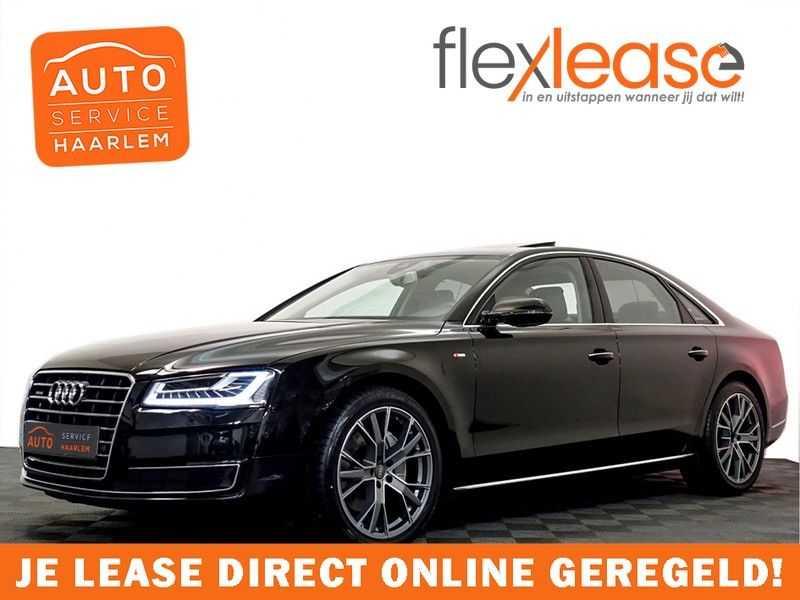 Audi A8 3.0 TDI Quattro Pro Line+ Exclusive 259pk Aut, Leer, Schuifdak, Bose, Led, Full afbeelding 1
