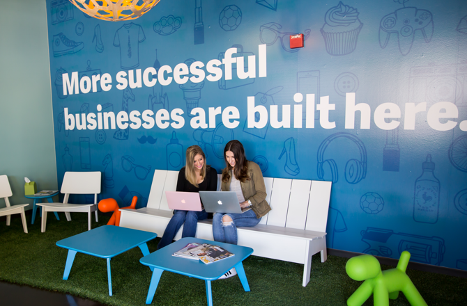 More successful businesses are built here