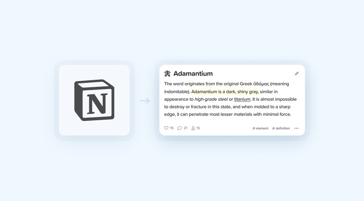 Switching from Notion to markdown notecards