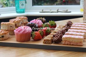 Selection of Treats for Bride to Be and her Friends