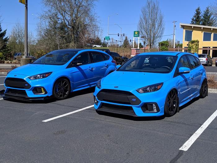 Ford RS Slammed Suspension