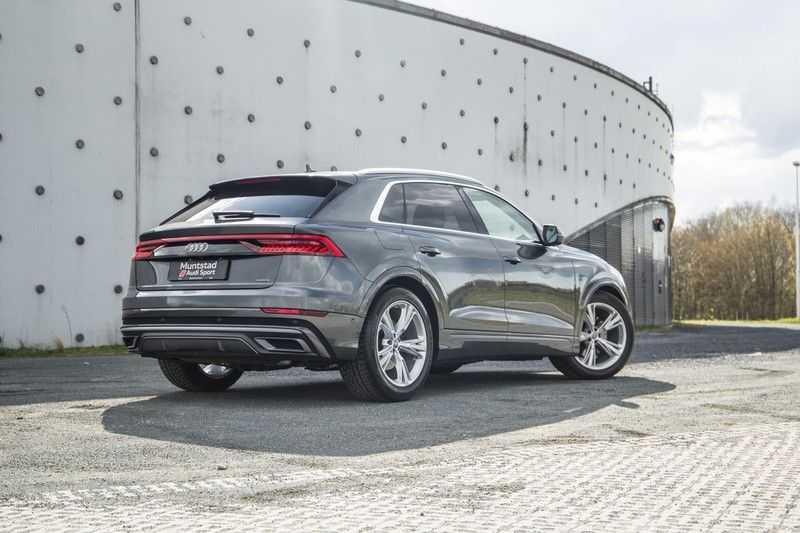 Audi Q8 55 TFSI quattro 340PK | Pano.dak | S-Line | 360 Camera | Adapt.cruise | Head-Up | B&O Advanced Sound | Massage/ventilatie/verwarmde Stoelen | Matrix LED | Full option | afbeelding 11