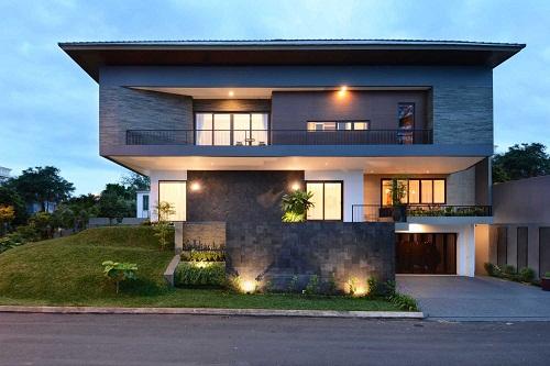 5 Desain Rumah Minimalis Bergaya Geometris