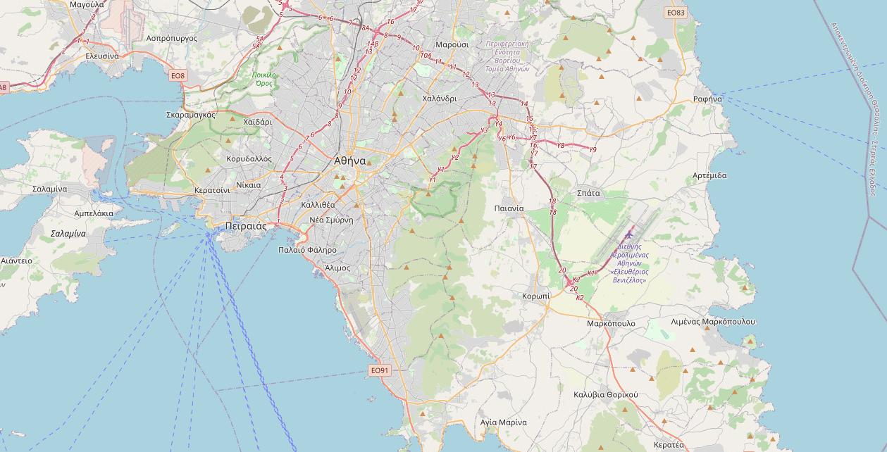 map of odiki voitheia